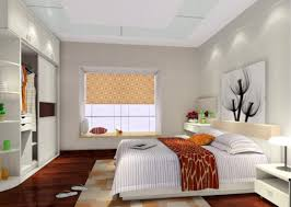 bedroom with plasterboard ceiling rdcny