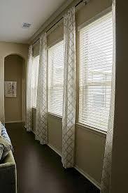 Window Treatments For Wide Windows Designs Window Curtain Lovely Curtain Ideas For Wide Windows