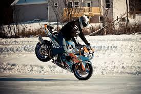 Winter Motorcycle Tires Winter Stunt Bike True Driving