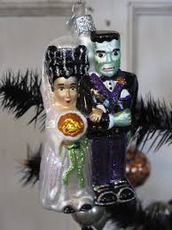 Old World Halloween Ornaments Halloween On Christmas