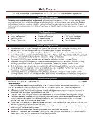 Leader Resume Examples Resume Examples Resume Examples Cover Letter Hospitality Resume