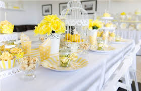 Wedding Table Decorations Ideas Remarkable Yellow And White Wedding Decoration Ideas 53 With
