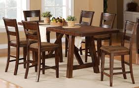 5 piece dining set transitional veca burnished mango rc willey