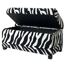 Animal Print Storage Ottoman Fantastic Animal Print Ottoman Alluring Animal Print Storage