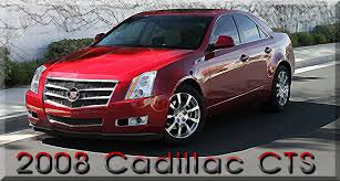 2008 cadillac cts performance 2008 cadillac cts specifications and performance
