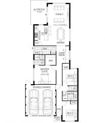 narrow home designs the venture narrow lot three bed home design domain by plunkett