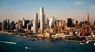 Hudson Yards Map Construction Begins On The Vast Platform For New York U0027s Hudson