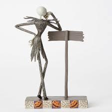 halloween trophy enesco disney traditions jack skellington halloween town statue disney