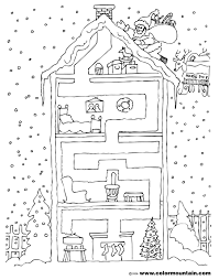 christmas activity maze coloring page create a printout or activity