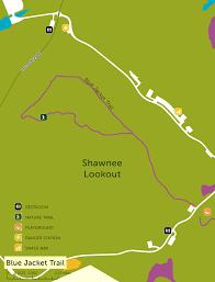 Shawnee Map Shawnee Lookout Blue Jacket Trail Great Cincy Strides
