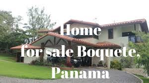 beautiful home for sale in palmira boquete unique view over the