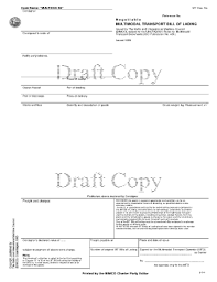 Bill Of Lading Template Excel Bill Of Lading Template Excel Forms Fillable Printable Sles