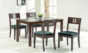 6 Seater Wooden Dining Table Design With Glass Top Glass Dining Table Set 6 Chairs Home Decorating Interior Design