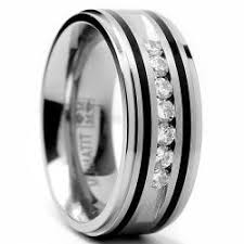 wedding rings for him silver mens wedding rings wedding promise diamond engagement