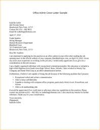 sample email cover letter for administrative assistant bookkeeper