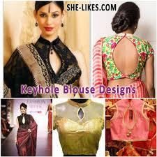 best blouse best trendy designer keyhole blouse designs designer