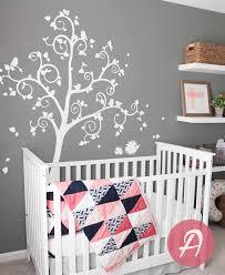 stickers arbre pour chambre bebe arbre sticker grand muraux pour chambre denfant arbre blanc