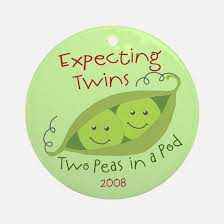 two peas in a pod christmas ornament two peas pod christmas ornament cafepress