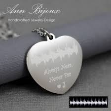 Personalized Hand Stamped Jewelry Customized Sterling Silver Hand Stamped Necklace Annbijoux