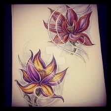 flower tattoo designs by aliceinsane on deviantart