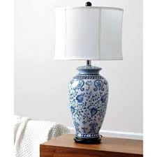 Blue Table Lamp Porcelain Table Lamps For Less Overstock Com
