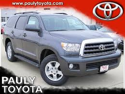 toyota 4wd new 2017 toyota sequoia sr5 4d sport utility in crystal lake