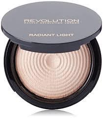 makeup revolution radiant lights amazon com makeup revolution radiant light illuminating powder