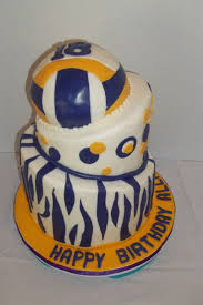87 best volleyball cakes images on pinterest volleyball party