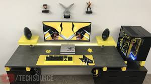 ultimate desk setup wolverine edition video on youtube com
