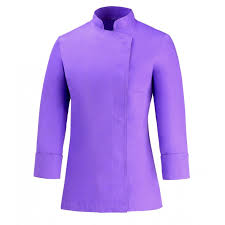 veste cuisine couleur veste de cuisine femme violette veste de cuisinier femme lilas