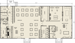 Fitness Center Floor Plans Ellis Modular Buildings Multi Purpose Facilities Floor Plans