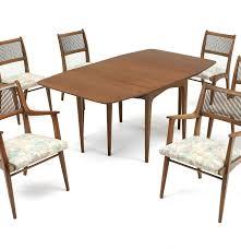 Ebth Drexel Profile John Van Koert Seven Piece Dining Set Ebth Home