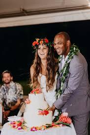 mer enn 25 bra ideer om hawaii wedding cake på pinterest