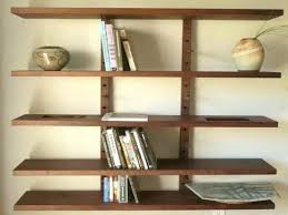 Wood Shelving Units by Awesome Wall Mounted Wood Shelving Inspirations Interior Decoration