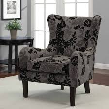 fabric accent chairs with arms and floral chair leather