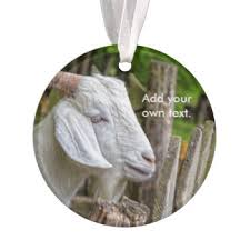 billy goat ornaments keepsake ornaments zazzle