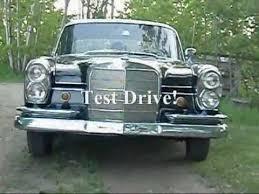 mercedes s230 test drive 1966 mercedes 230s