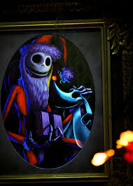 Halloween Jack Skeleton by Disneyland Haunted Mansion Holiday Jack Skellington And Zero