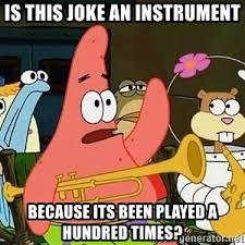 Patrick Meme Generator - patrick is mayonnaise an instrument meme generator