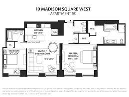 west 10 apartments floor plans 10 madison square west flatiron nomad manhattan scout