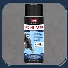 sem m25513 mercury phantom black engine cover paint 16oz aerosol