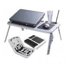 tv table as seen on tv as seen on tv e table laptop table with usb fan
