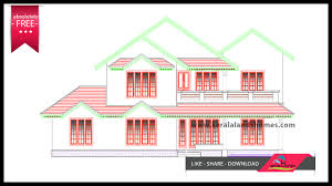budget house plans download low budget free kerala house plans and elevationreal