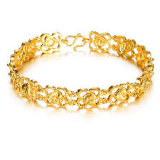 opk jewellery selling 18k gold plated hollowed design