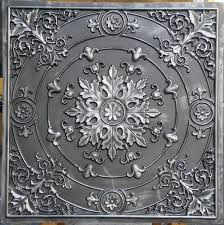 Faux Tin Ceiling Tiles Drop In by Interior Add Beauty To Any Room In Your Home With Cool Faux Tin