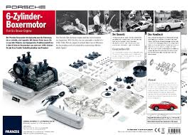 porsche 911 engine 1966 911 flat six 1 4 scale engine model pelicanparts com