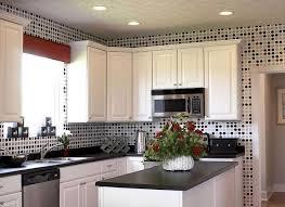 white kitchen cabinets decorating ideas white kitchen cabinets and modern wallpaper ideas for