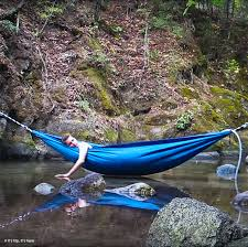 the hydro hammock may even get a princess like me to go camping
