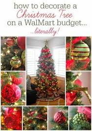Walmart Valentine Decorations How To Make A Bow For A Tree Topper Christmas Tree Tree Toppers