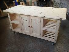 pine kitchen island handmade without assembly required kitchen islands carts ebay